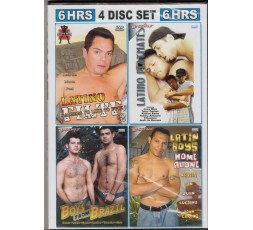 Sexy shop online i trasgressivi Set 4 Dvd Gay - Latin 2