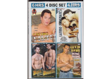 Set 4 Dvd Gay - Latin 2