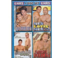Sexy shop online i trasgressivi Set 4 Dvd Gay - Daddyes 3