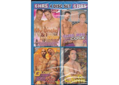 Set 4 Dvd Gay - Old Cocksmen