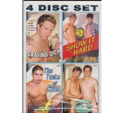 Sexy shop online i trasgressivi Set 4 Dvd Gay - White Gay 1