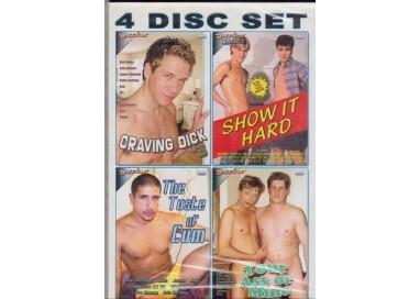 Set 4 Dvd Gay - White Gay 1
