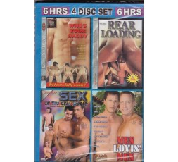 sexy shop online i trasgressivi Set 4 Dvd Gay - Bend Over For Daddy 1