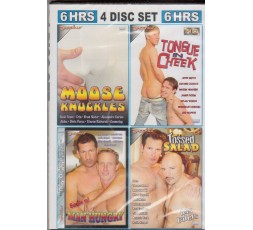 Sexy shop online i trasgressivi Set 4 Dvd Gay - White Gay 14