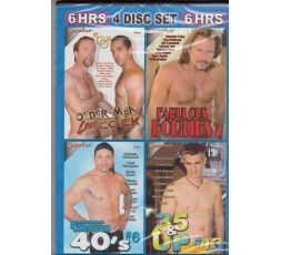 Sexy shop online i trasgressivi Set 4 Dvd Gay - Lusty Daddies