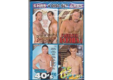 Set 4 Dvd Gay - Lusty Daddies