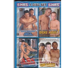 Sexy shop online i trasgressivi Set 4 Dvd Gay - Fucking Interracial