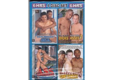 Set 4 Dvd Gay - Fucking Interracial