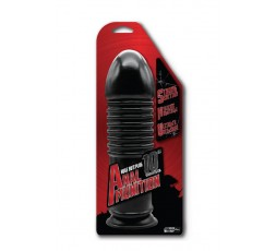 "Sexy Shop Online I Trasgressivi - Plug XXL - 10"" Anal Munition Huge Butt Plug Black - NMC"
