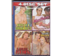 Sexy shop online i trasgressivi Set 4 Dvd Gay - Daddy Gets Fluffed e Stuffed
