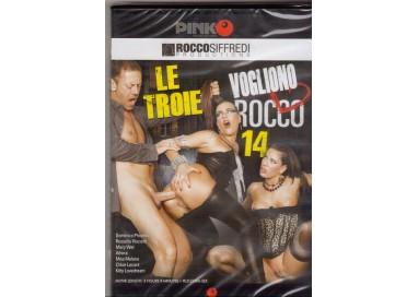 Dvd Singolo Etero Rocco Siffredi - Le Troie Vogliono Rocco 14 - Pinko
