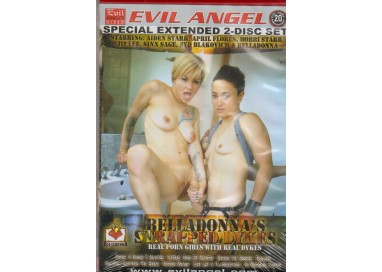 Set 2 Dvd Lesbo - Belladonna's Strapped Dykes - The Evil Angel