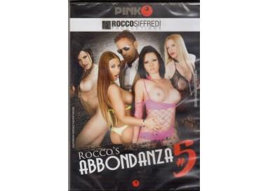 Dvd Singolo Etero Rocco Siffredi - Rocco's Abbondanza 5 - Pinko