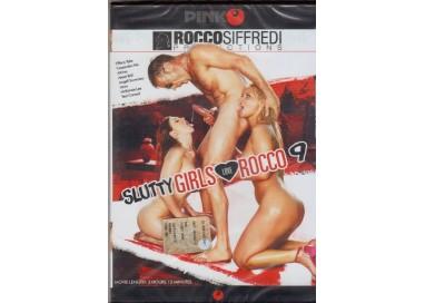 Dvd Singolo Etero Rocco Siffredi - Slutty Girls Love Rocco 9 - Pinko