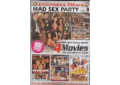 Set 4 Dvd Etero - Mad Sex Party vol.3 - Eromaxx Films