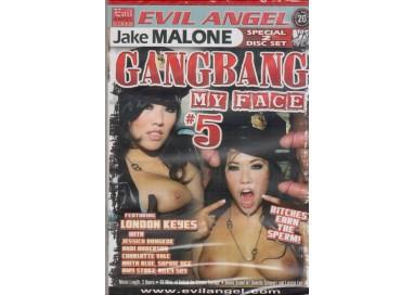 Set 2 Dvd BDSM - Gangbang My Face 5 - The Evil Angel