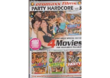 Set 4 Dvd Etero - Party Hardcore vol.3 - Eromaxx Films