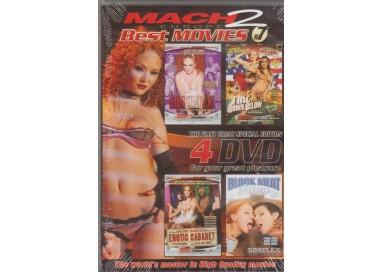 Set 4 Dvd Etero - Best Movies 7 - Mach 2