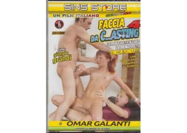 Dvd Porno Etero - Faccia Da C....asting - Sins Store