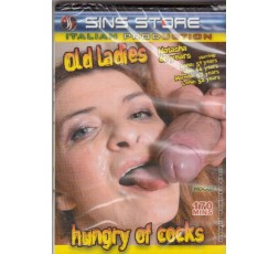 Sexy Shop Online I Trasgressivi - Dvd Porno Etero - Old Ladies hungry of cocks - Sins Store