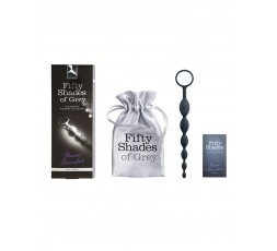 Sexy Shop Online I Trasgressivi - Palline Anali - Pleasure Intensified FSoG Anal Beads - Fifty Shades Of Grey