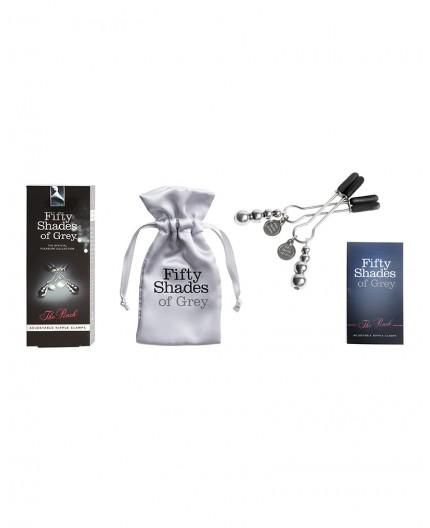 Sexy Shop Online I Trasgressivi - Pesi e Pinze BDSM - The Pinch FSoG Adjustable Nipple Clamps - Fifty Shades Of Grey