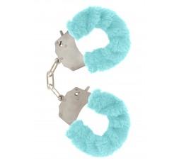 Sexy Shop Online I Trasgressivi - Costrittivo - Furry Fun Cuffs Aqua - Toy Joy