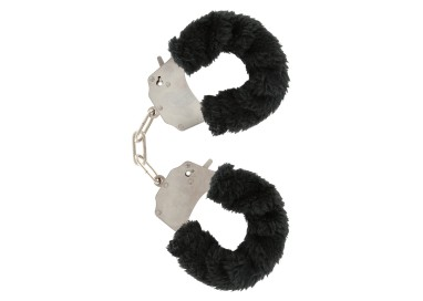 Costrittivo - Furry Fun Cuffs Black - Toy Joy