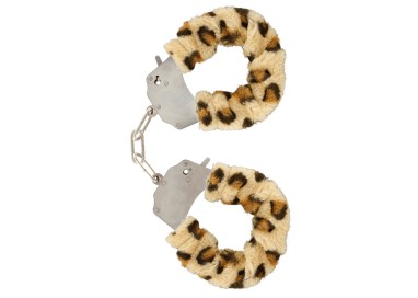 Costrittivo - Furry Fun Cuffs Leopard - Toy Joy