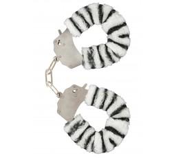 Sexy Shop Online I Trasgressivi - Costrittivo - Furry Fun Cuffs Zebra - Toy Joy