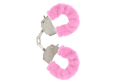 Costrittivo - Furry Fun Cuffs Pink - Toy Joy