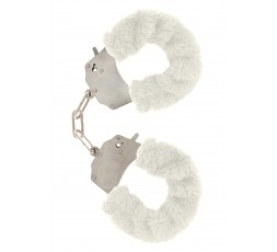 Sexy Shop Online I Trasgressivi - Costrittivo - Furry Fun Cuffs White - Toy Joy
