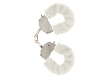 Costrittivo - Furry Fun Cuffs White - Toy Joy