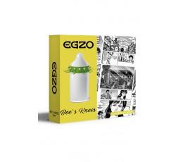 Sexy Shop Online I Trasgressivi - Profilattico - Bees Knees Stimulating Condom - Egzo