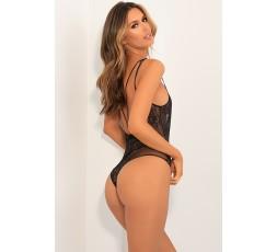 Sexy Shop Online I Trasgressivi - Sexy Lingerie - Aim To Tease Bodysuit Black - René Rofé