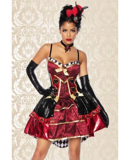 Sexy Shop Online I Trasgressivi - Halloween Donna - Red Queen Costume