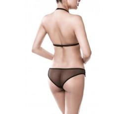 Sexy Shop Online I Trasgressivi - Sexy Lingerie - Two Part Erotic Set - Grey Velvet