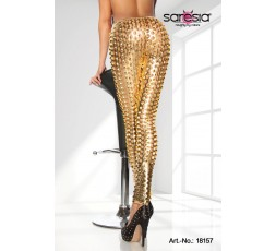 Sexy Shop Online I Trasgressivi - Pantalone & Leggings - Leggings Of The Stars Oro - Saresia