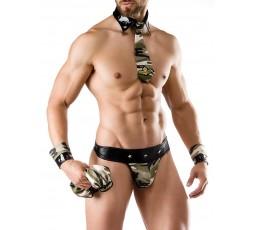 Sexy Shop Online I Trasgressivi - Carnevale Uomo - Army Costume Man Roleplay - Saresia