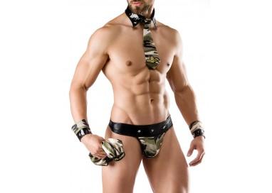 Carnevale Uomo - Army Costume Man Roleplay - Saresia