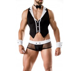 Sexy Shop Online I Trasgressivi - Carnevale Uomo - Barkeeper Costume Man Roleplay - Saresia