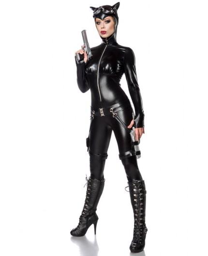 Sexy Shop Online I Trasgressivi - Halloween Donna - Costume da Sexy Cat Fighter - Mask Paradise