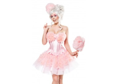 Sexy Shop Online I Trasgressivi - Carnevale Donna - Cotton Candy Girl - Mask Paradise
