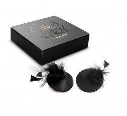 Sexy Shop Online I Trasgressivi - Accessori Vari - Burlesque Pasties Feather - Bijoux Indiscrets