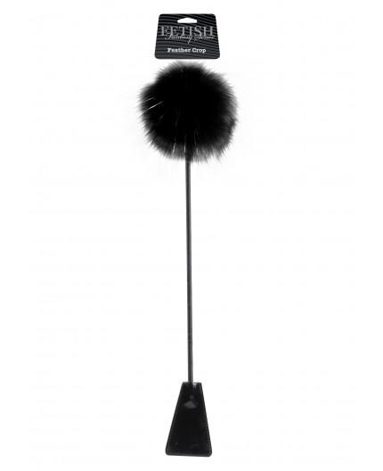 Sexy Shop Online I Trasgressivi - Fruste & Paddle - Feather Crop Black - Pipedream