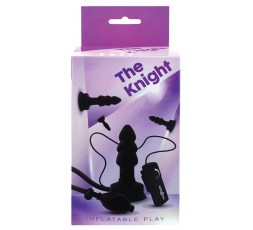 Sexy Shop Online I Trasgressivi - Plug Anale Gonfiabile Vibrante - The Knight Inflatable Vibrating Plug - Seven Creations