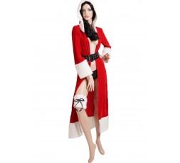 Sexy Shop Online I Trasgressivi - Natale Donna - Vestaglia Natalizia