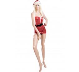 Sexy Shop Online I Trasgressivi - Natale Donna - Costume Con Paillettes