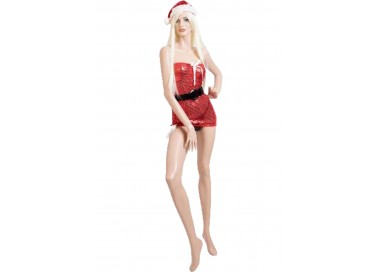 Il consiglio del giorno: Natale Donna - Costume Con Paillettes