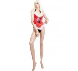 Sexy Shop Online I Trasgressivi - Natale Donna - Costume Corpetto Rosso